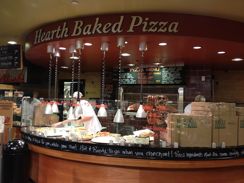 Lost in the Supermarket – Eating Pizza at Whole Foods Market