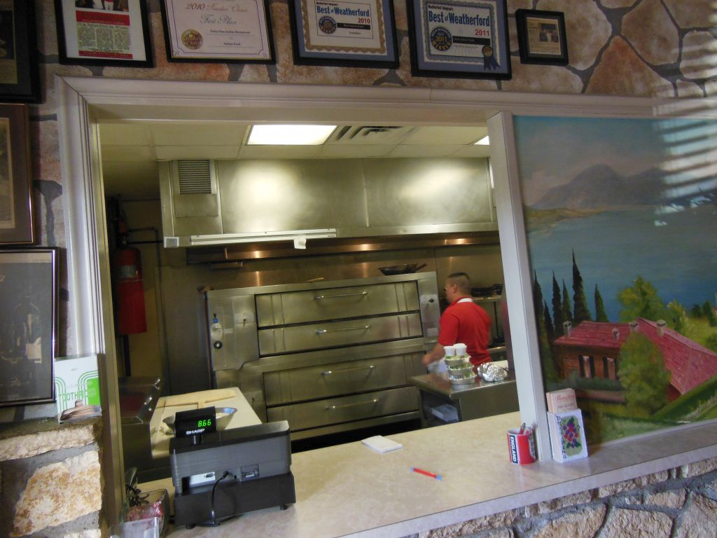Pastafina—The Second Best Pizza in Weatherford, TX? | The