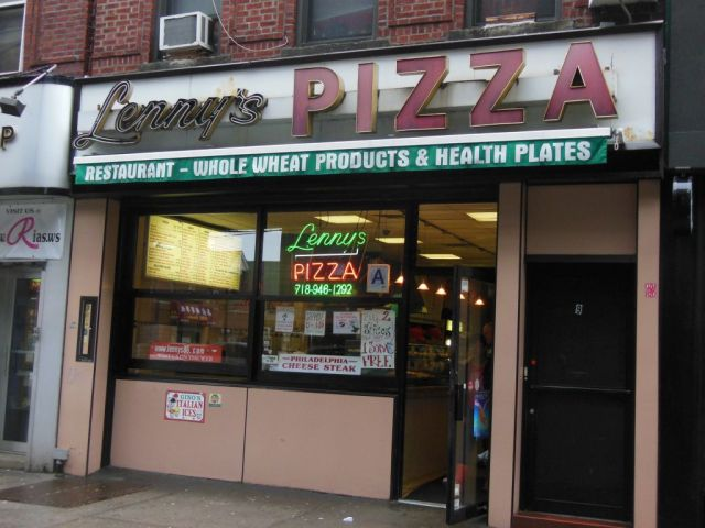 Lennys Pizza - outside - RESIZE