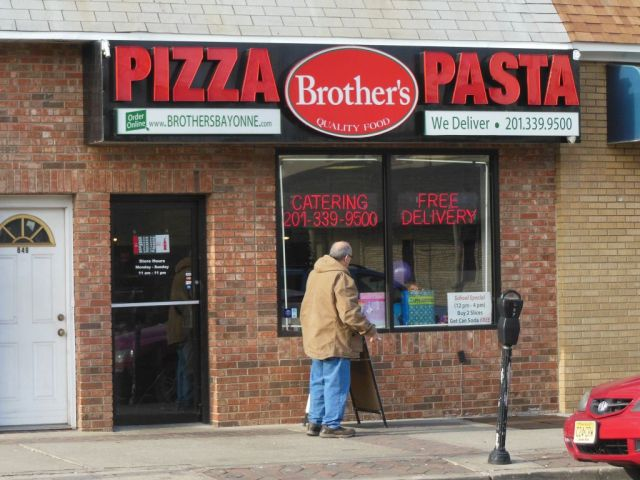 Brothers Pizza - outside - RESIZE