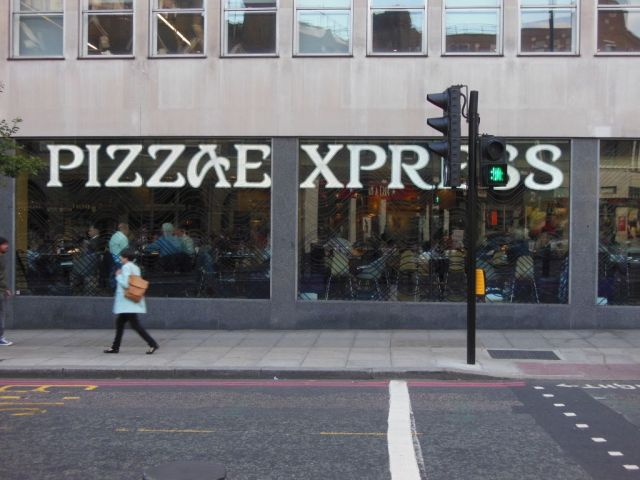 Pizza Express - outside - RESIZE