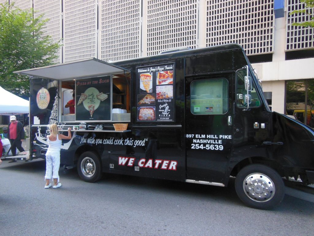 Joey S House Of Pizza Food Truck