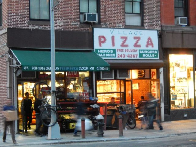 Village Pizza - outside - RESIZE