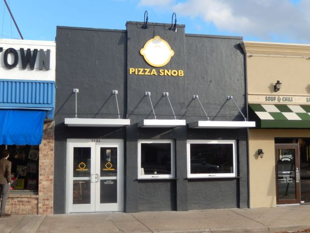 The Pizza Snob - outside - RESIZE