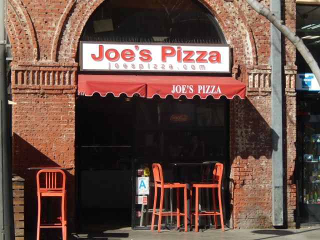 Joe's Pizza - outside - RESIZE