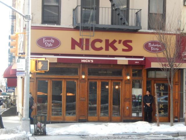 Nicks Pizza - outside - RESIZE