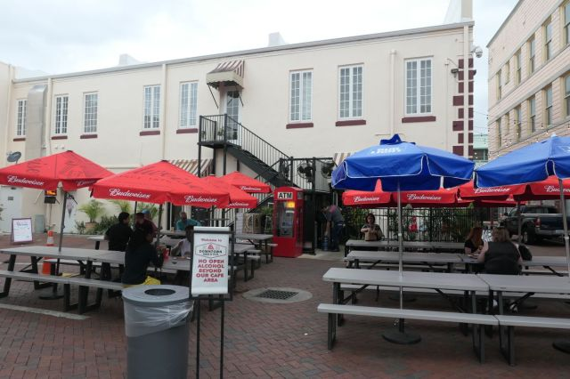 Downtown House of Pizza - patio - RESIZE